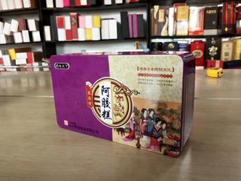 阿胶糕铁盒14