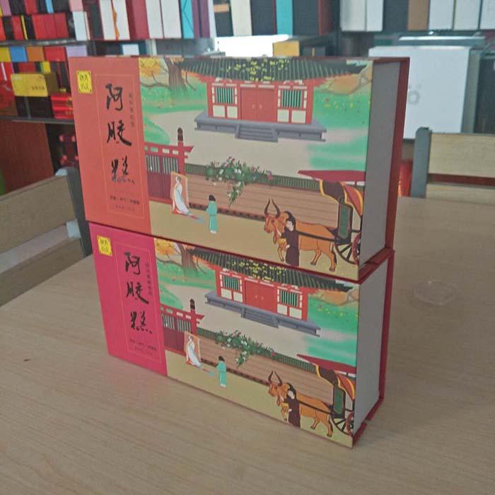 阿胶糕精裱盒