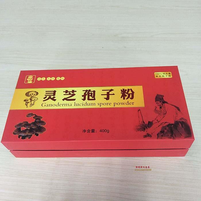 灵芝孢子粉精裱盒包装